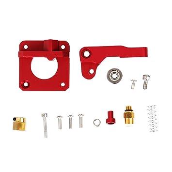 L.W.S Piezas de la Impresora 3D Metal MK8 Extrusora Bloque Bowden ...