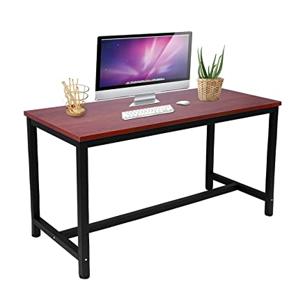 amazon com vividy modern writing computer desk pc laptop study rh amazon com