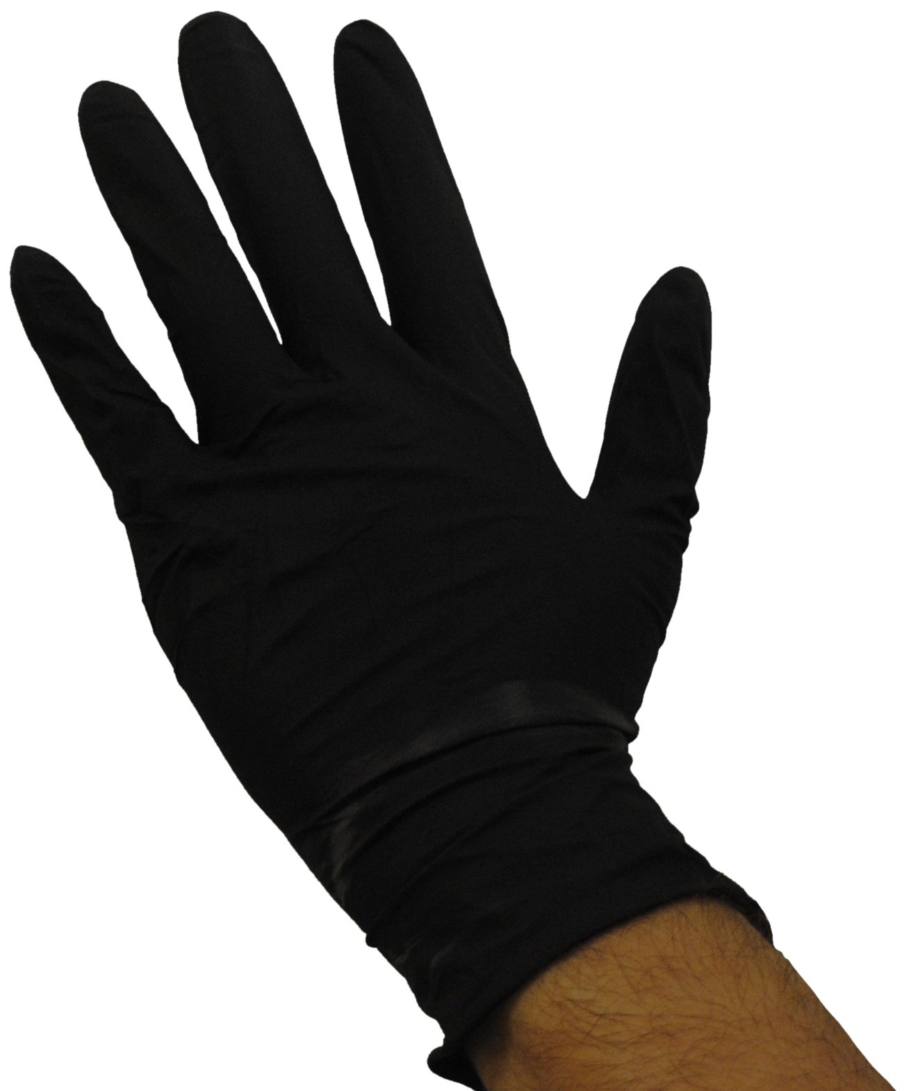 Emerald 6X Black Nitrile Medical Grade Gloves Case X-Large by Emerald