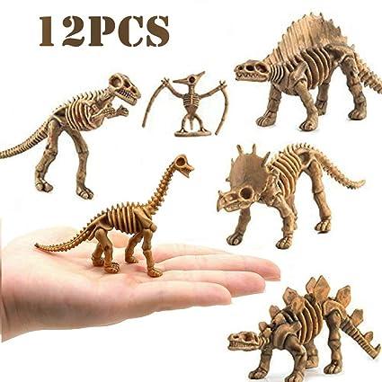Amazon.com: Cektoys Dinosaur Fossil Skeleton (12 piezas ...