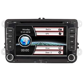 Eunavi Coche GPS estéreo con navegación, 7