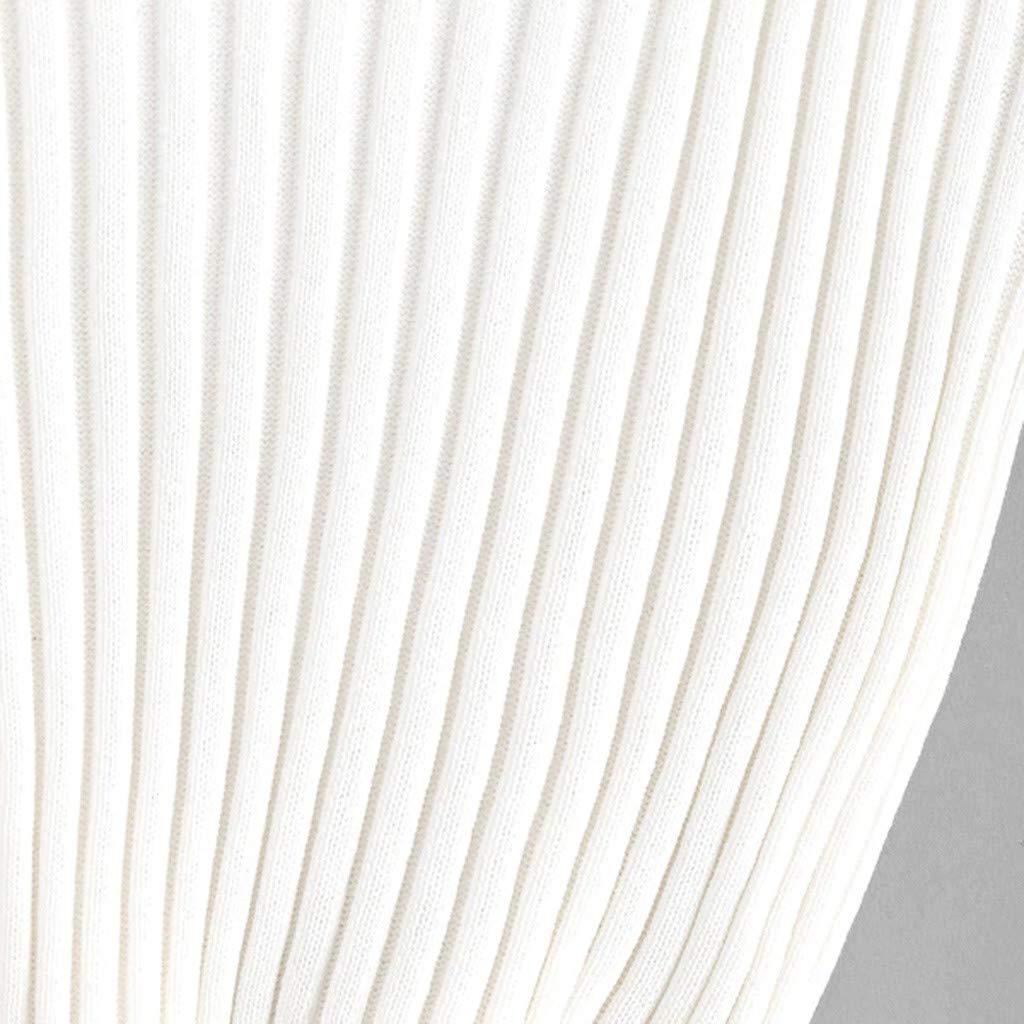 Qmber 2019 Fr/ühling Sommer Damen Tops /Ärmellos Tank Tops Elegant Weste T-Shirt Cami Oberteile Sleeveless Daily Basics Bluse Tee Tr/ägerloses Tr/ägershirt