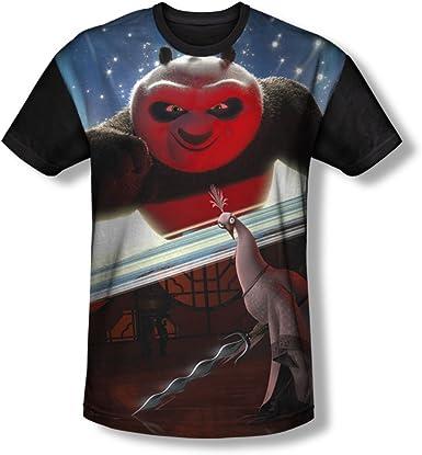 Maglietta da uomo Trevco Kung Fu Panda Epic Jumping