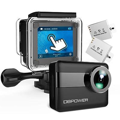 【本日まで】DBPOWER 4K WIFI アクションカメラ タッチスクリーン・手ブレ補正機能付き 送料込4,999円【激安★超特価商店街限定】