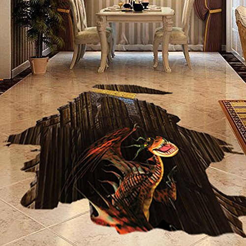 Floor Murals Amazoncom - 3d vinyl flooring for sale
