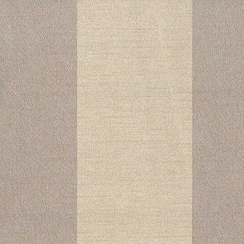 Aspect Brown/Beige Stripe Wallpaper for Walls - Sample Swatch - by Romosa Wallcoverings