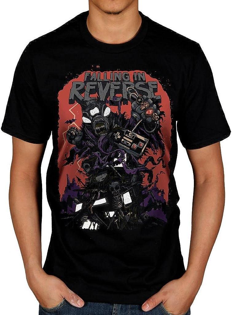Official Falling In Reverse Wilderness T-Shirt Rock Band Fan Merch Hardcore