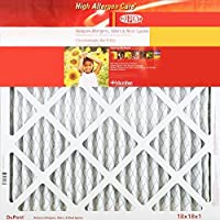 14x18x1 (Actual Size) DuPont High Allergen Care Electrostatic Air Filter, MERV 10