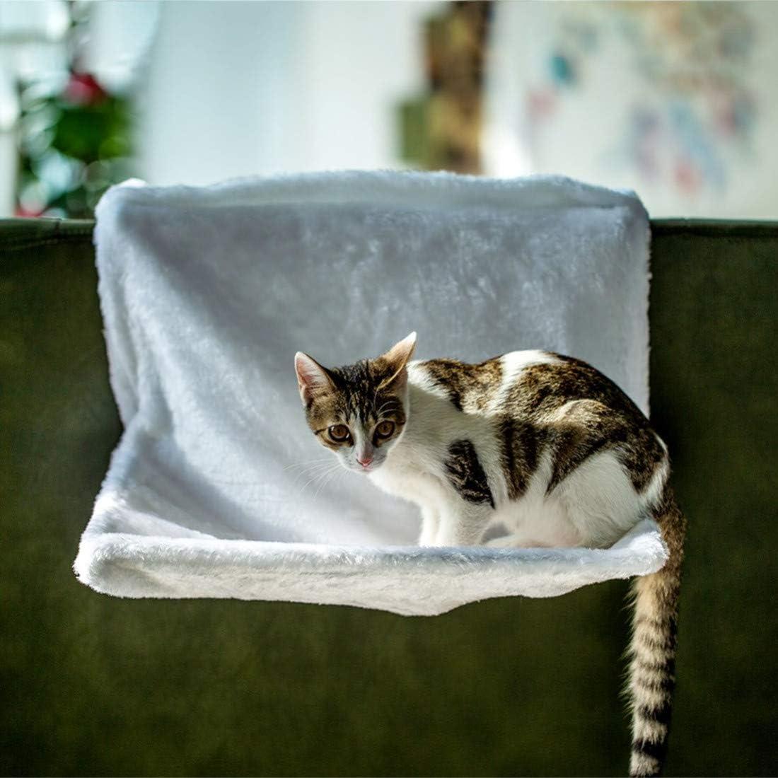 VICTORIE Cama Gato Radiador Hamaca Peluche para Perros Animales Pequeños Cachorros: Amazon.es: Productos para mascotas