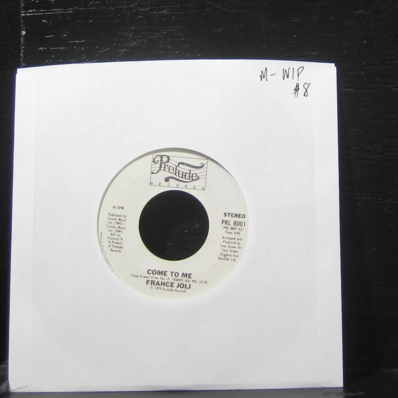 France Joli France Joli Come To Me Let Go 7 Vinyl 45 Record Amazon Com Music