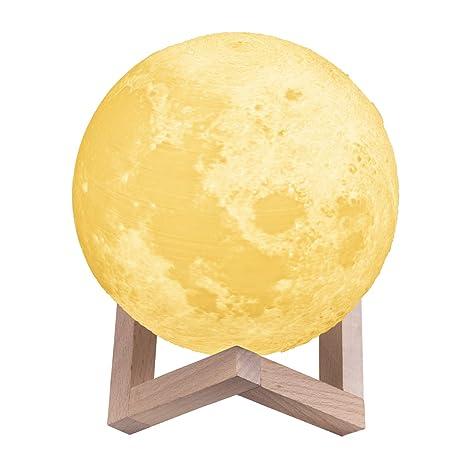 noche Touch Cuerpo Luna de infantil Lámpara infantil Luces YW29IDHE