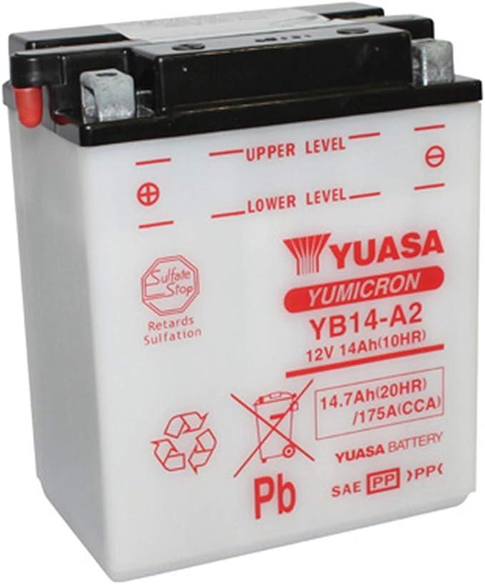 Yuasa Batterie Yb14 A2 Offen Ohne Saeure Auto