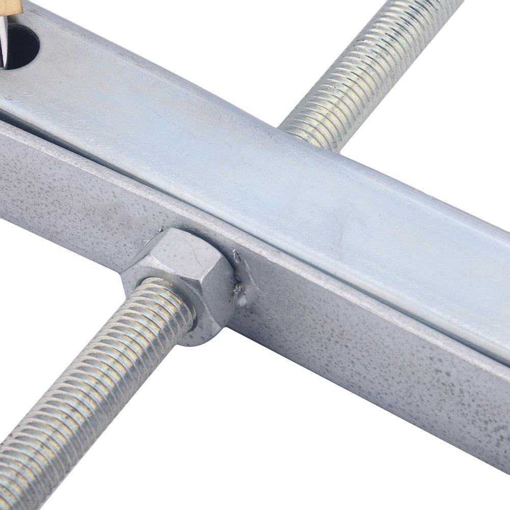 2 Free Plus Padlock EBTOOLS Ladder Roof Rack Universal Lockable Aluminium Van Car Car Van Roof Rack Ladder Clamps