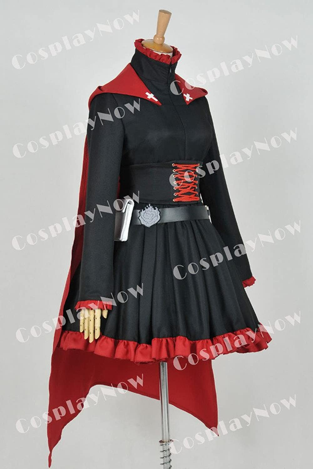 Amazon.com: CosplayNow RWBY Ruby Rose Cosplay Costume Gothic Dress: Clothing