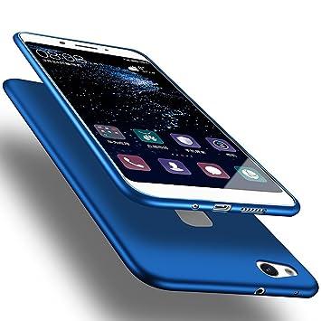 X-level Funda para Huawei P10 Lite, Carcasa para Huawei P10 Lite Suave TPU Gel Silicona Ultra Fina Anti-Arañazos y Protección a Bordes Funda Phone ...