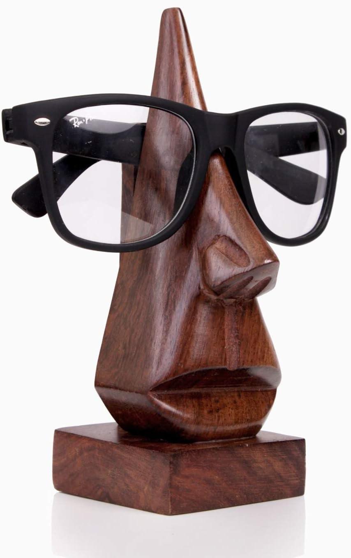 Supporto per occhiali in legno a forma di un naso B00DNUH0GQ
