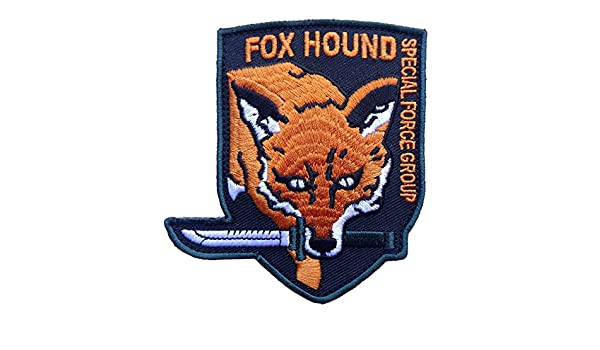 Titan One Europe Tactical Fox Hound Special Forces Parche T/áctico Bordado