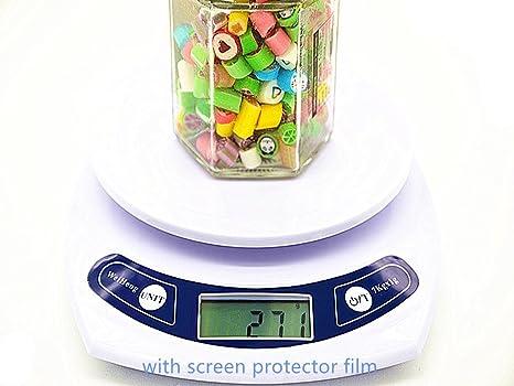 carelove 0.01oz báscula de cocina digital de alta precisión 6,8/7kg,
