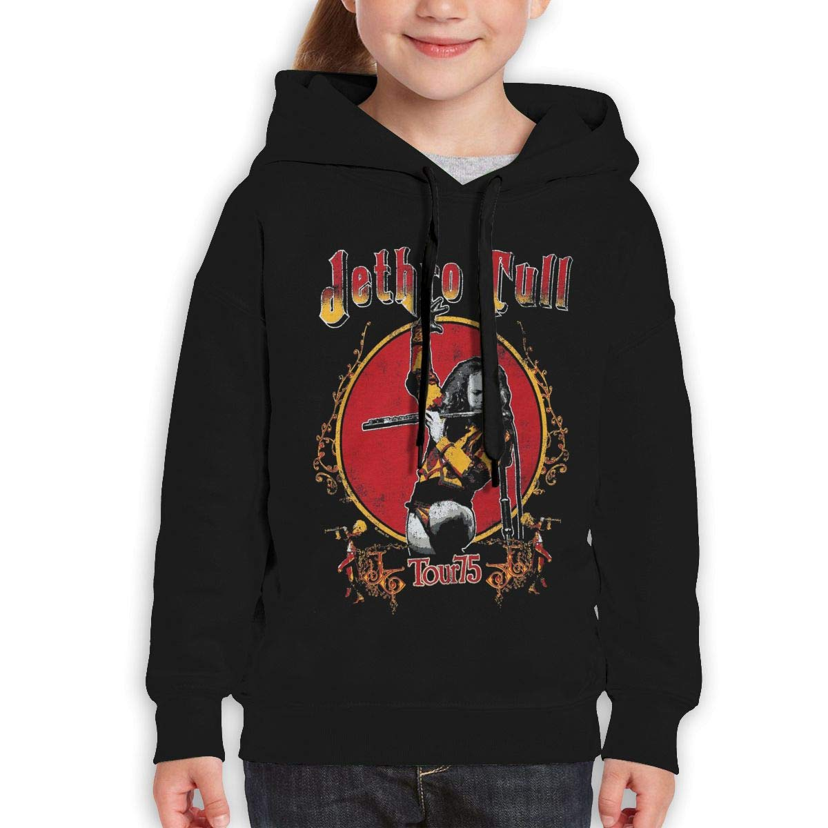 Guiping Jethro Tull Tour Teen Hooded Sweate Sweatshirt Black