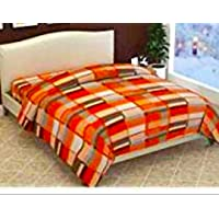 ELSTONE HOME Soft Touch Light Weight Dohar Razai Cover for Single Bed for Winters [Color & Print May Be Vary, Pack of 2]