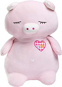 Sweepstakes: HollyHOME Pig Stuffed Animal Plush Sleeping Piggy Zoo Pet…