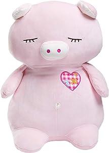HollyHOME Pig Stuffed Animal Plush Sleeping...