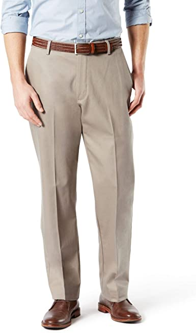 Dockers Big Tall Best Pressed Signature Khaki-Pleated Pants Select Size /& Color