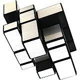 FCBB 3x3x3 Mirror Silver Speed Cube Puzzle Black