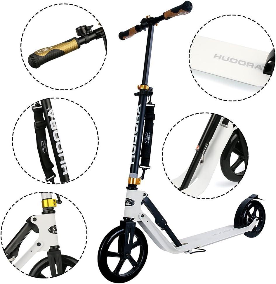 Amazon.com: HUDORA 230 - Patinete de ruedas grandes: Sports ...