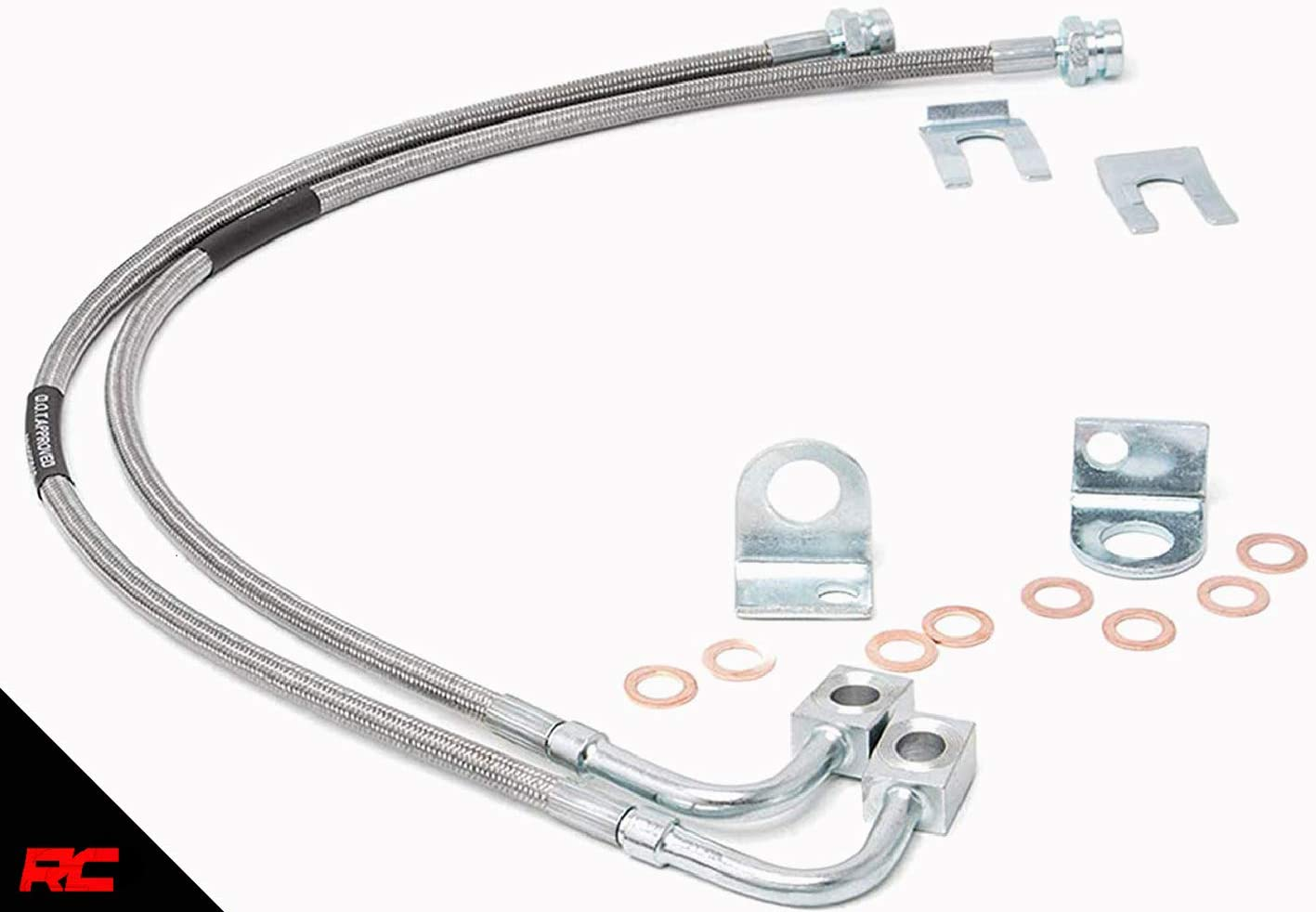 86 jeep cherokee vacuum diagram amazon com rough country front extended stainless brake lines  rough country front extended stainless