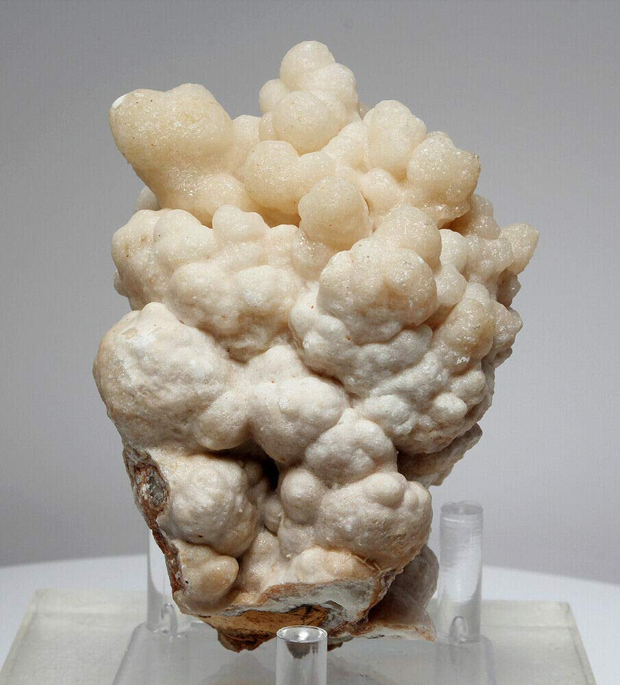 Beautiful Bubbly Aragonite Calcite from Mibladen, Morocco (5826)