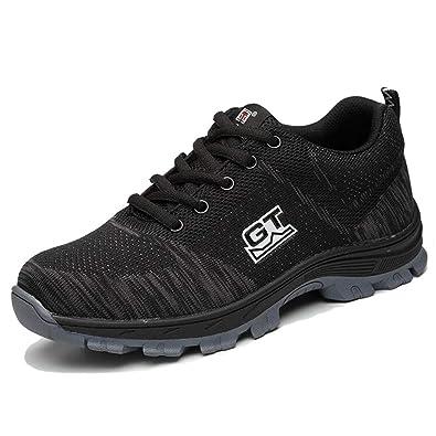 06f21be5f84 Manka Vesa Mens Womens Steel Toe Safety Shoes Work Trainers ...