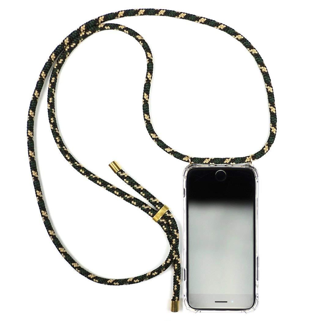 KNOK case Funda Colgante movil con Cuerda para Colgar iPhone XS MAX con Cordon para Llevar en el Cuello Hecho a Mano en Berlin Carcasa de m/óvil iPhone Samsung Huawei con Correa Colgante