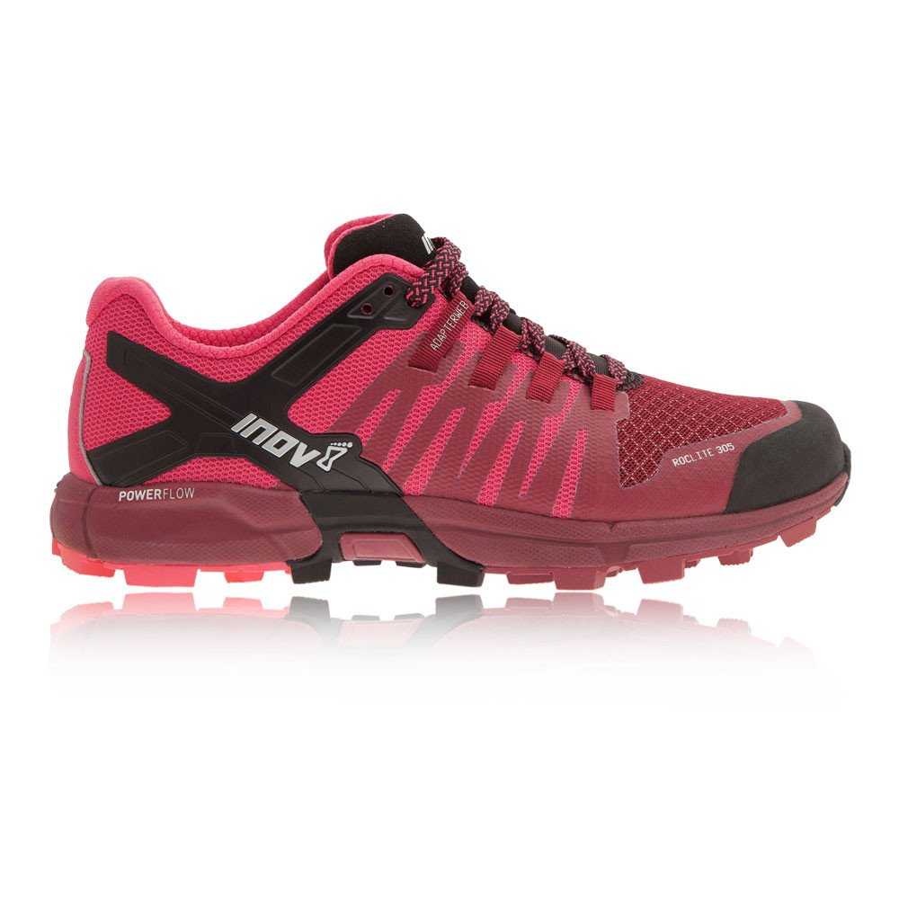 Inov-8 Women's Roclite 305 Running Shoe B01N63U1Q6 6 W US|Dark Red / Pink / Black