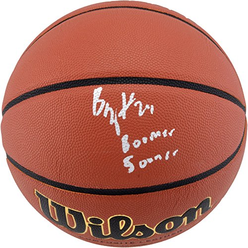 Buddy Hield Oklahoma Sooners Autographed NCAA Indoor/Outdoor Basketball with Boomer Sooner Inscription - Fanatics Authentic Certified