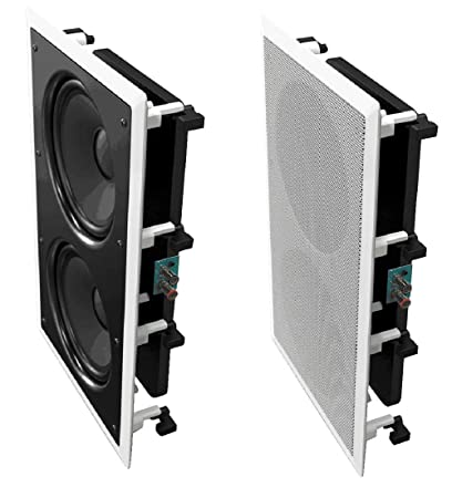 In Wall Subwoofer >> Amazon Com Osd Audio 350w In Wall Home Theater Subwoofer 8