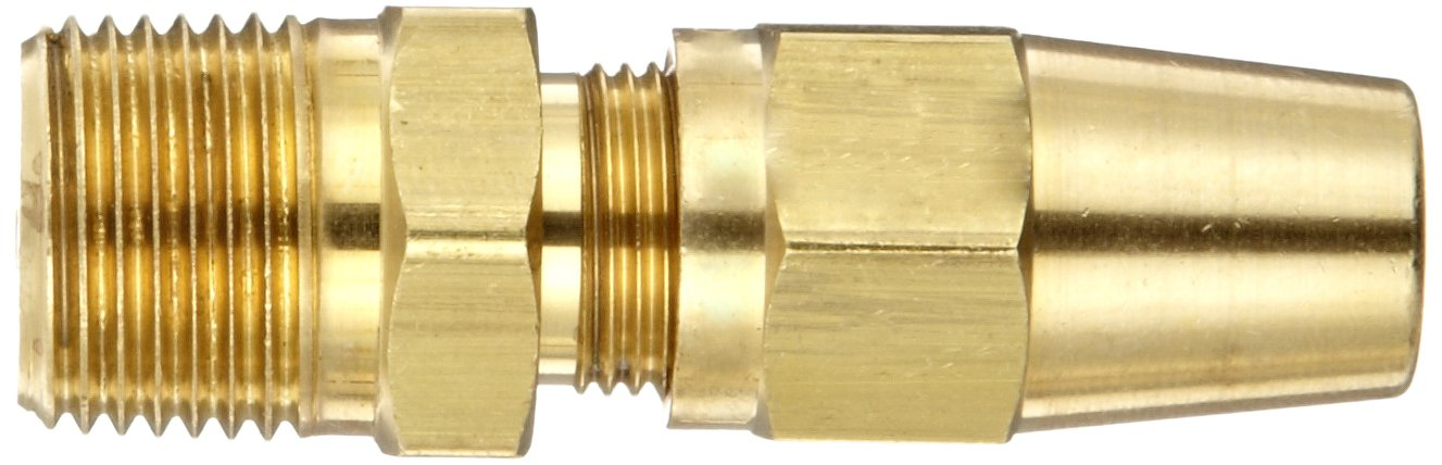EATON Weatherhead 1368X6X6 Air Brake Tubing Male Connector 3//8 Tube OD 3//8 Male Pipe Thread 3//8 Tube OD 3//8 Male Pipe Thread