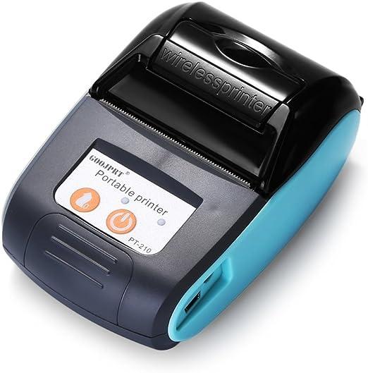 Amazon.com: GOOJPRT PT - 210 Impresora portátil portátil de ...