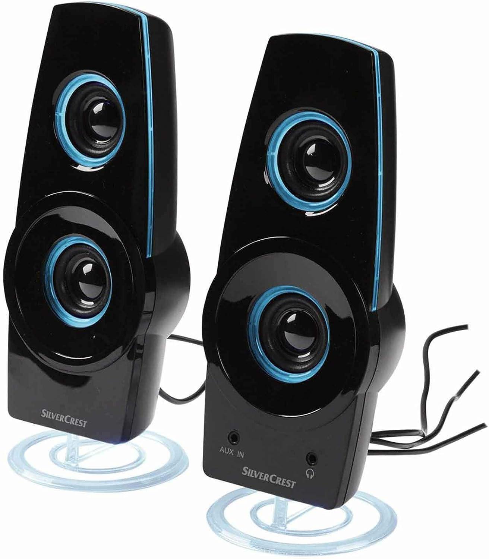 Unbekannt Silvercrest Aktiv Lautsprecher Slp 1 2 E3 Computer Zubehör