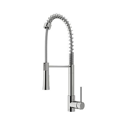 Superieur VIGO Laurelton Single Handle Pull Down Spray Kitchen Faucet, Stainless Steel