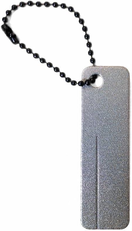 EDC Pocket Diamond Stone Sharpener Keychain Sharpener Portabl I4U2 Outdoor H0P4