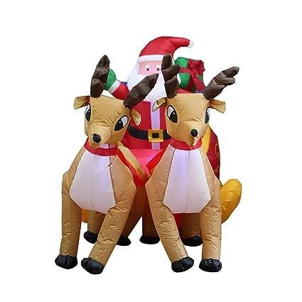 Amazon.com: Wang JESS - Carro de ciervo hinchable de Navidad ...