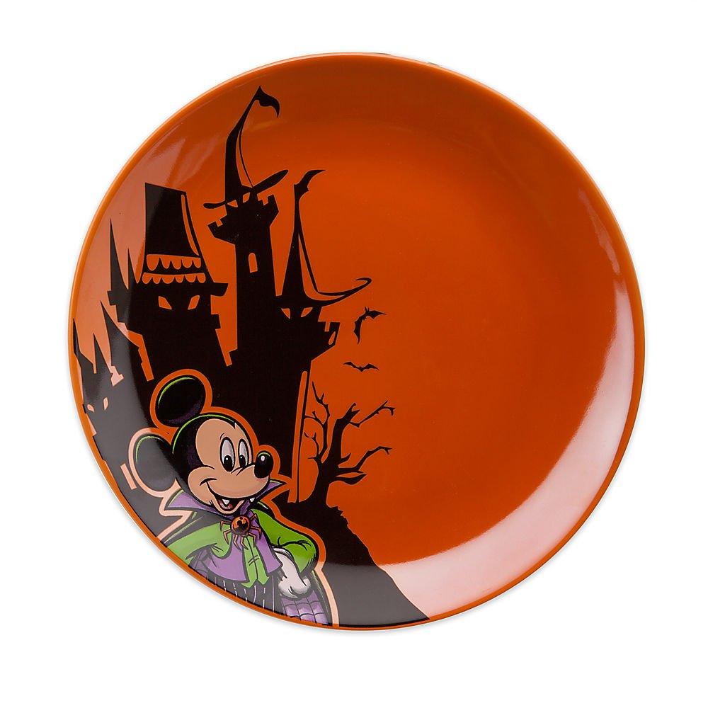 Disney Mickey Mouse Halloween Dessert Plate 400000387512