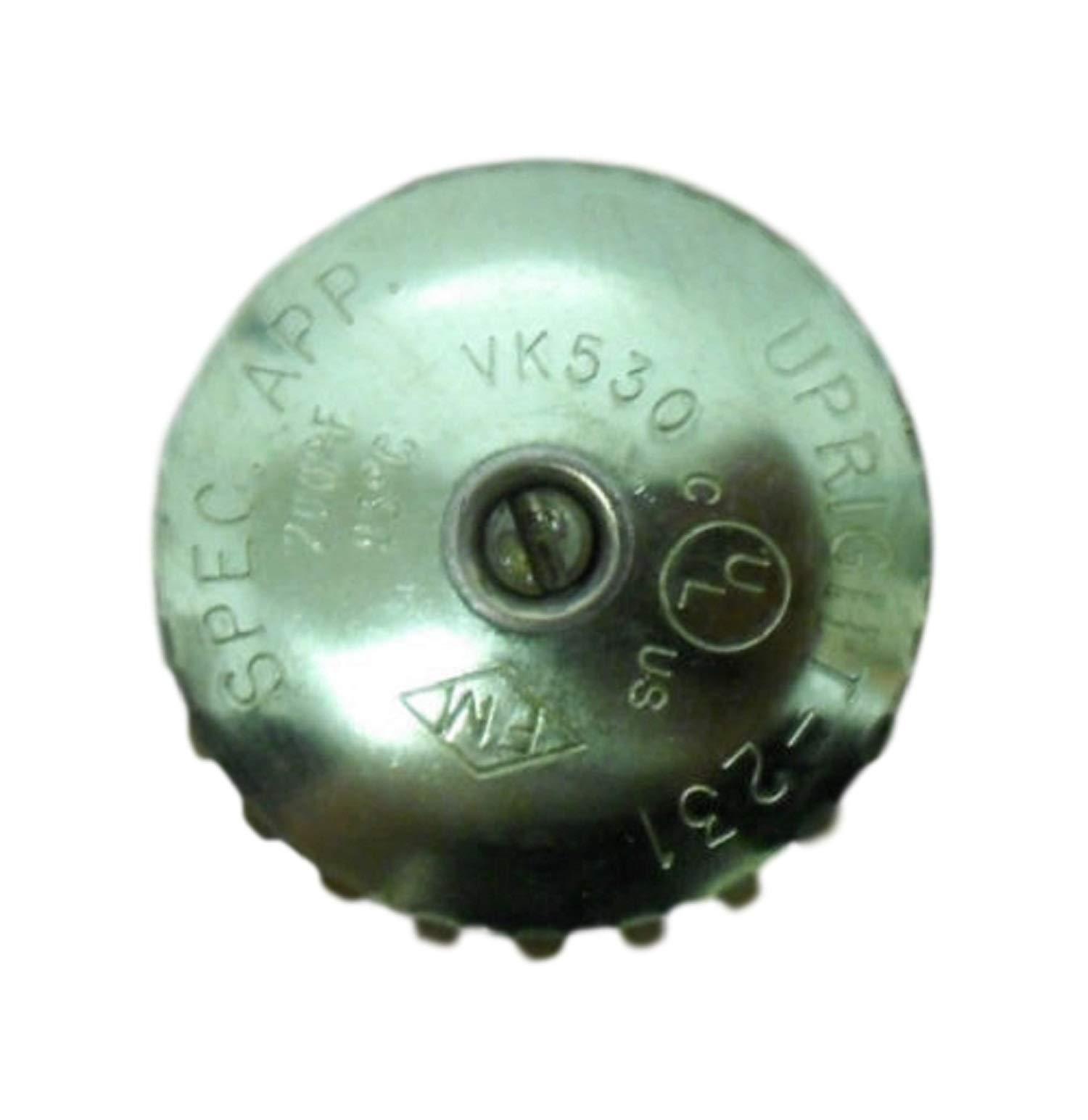 Viking 09679AE 231 Upright Sprinkler - 3/4'' NPT Specific Application Glass Bulb