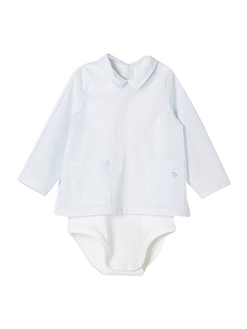 Body de Manga Corta Unisex para beb/é con Cuello Cambrass