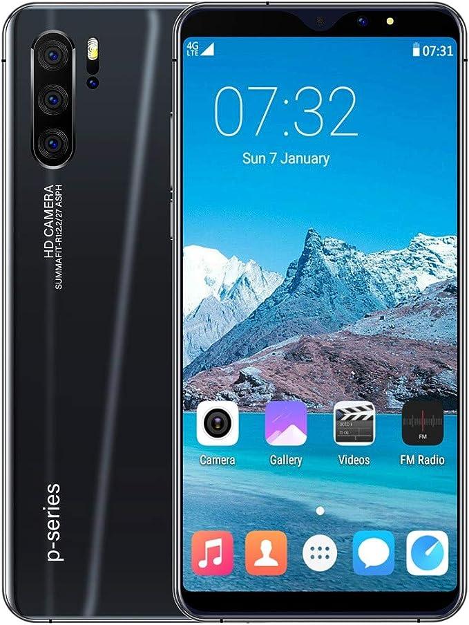 Gunel Desbloqueado Móvil 3G Teléfonos Dual SIM Smartphone 800w+1600w Cámara Smartphones 3800mAh Batería 6.3