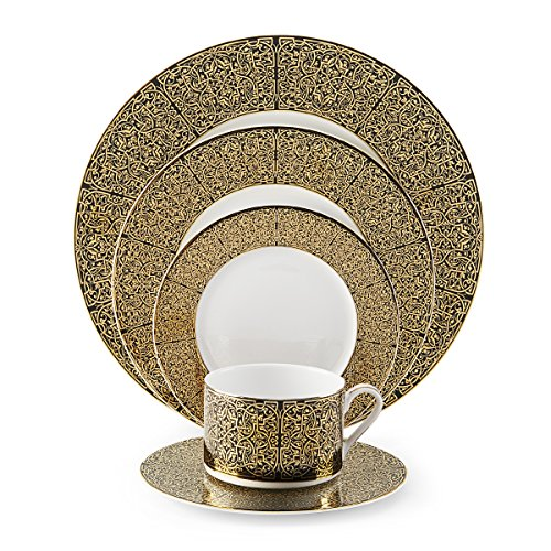 (Mikasa Antonia Gold 5-Piece Place Setting, Service for 1)