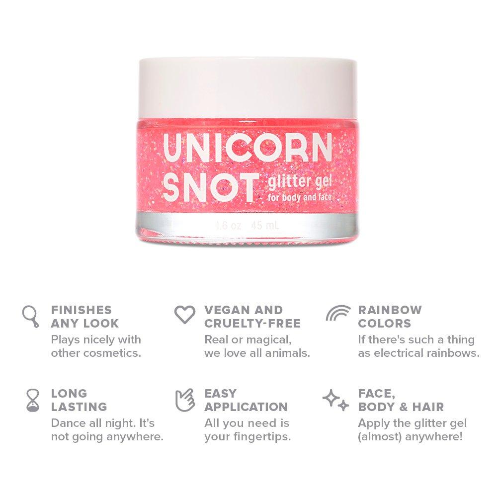 Amazon Com Unicorn Snot Holographic Body Glitter Gel Vegan