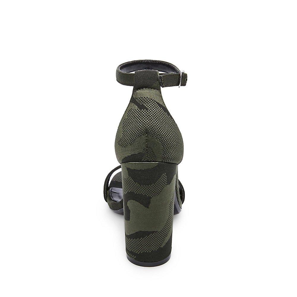 Steve Madden Women's Carrson Dress Sandal B07FL6WV8L 7.5 B(M) US Camouflage