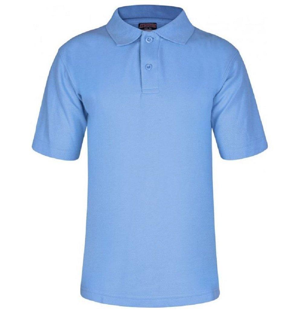 Mischief Age 2-15 School Plain Polo Shirt Short Sleeve 15 Colours Childrens Boys Polo Shirt Girls Polo Shirt School Uniform P.E.